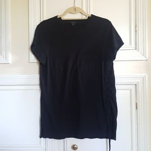 All Saints Lace Up tee